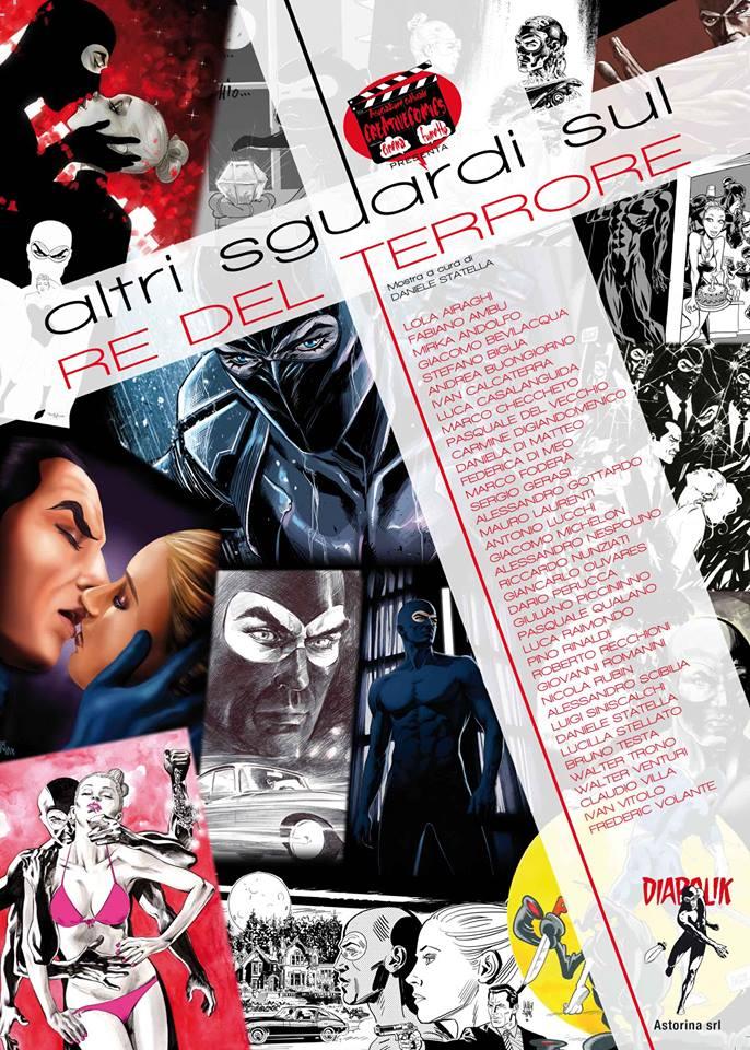 copertina del catalogo di Cassale Diabolika 2014