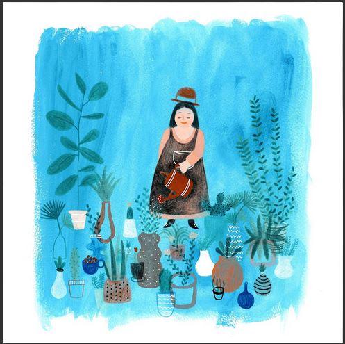 Illustrazione di Silvia Benedetti, premio creatività 2018