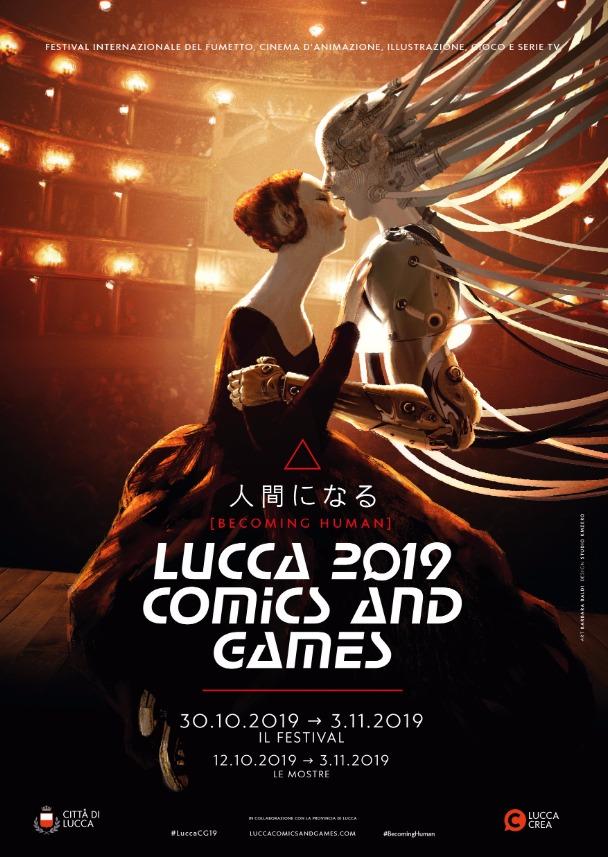 manifesto di Lucca Comics 2019 -  Barbara Baldi