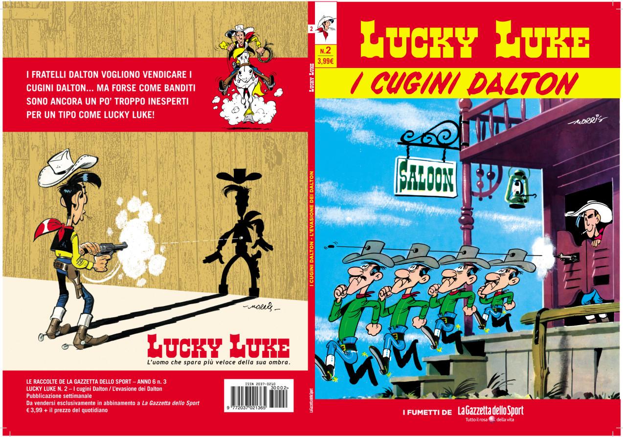lucky luke copertine secondo numero