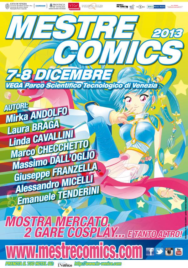 manifesto di Mestre Comics