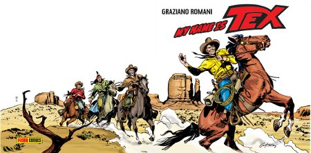my name is tex Cover di Giovanni Ticci