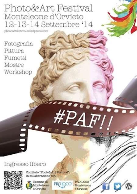 locandina PAF festival 2014