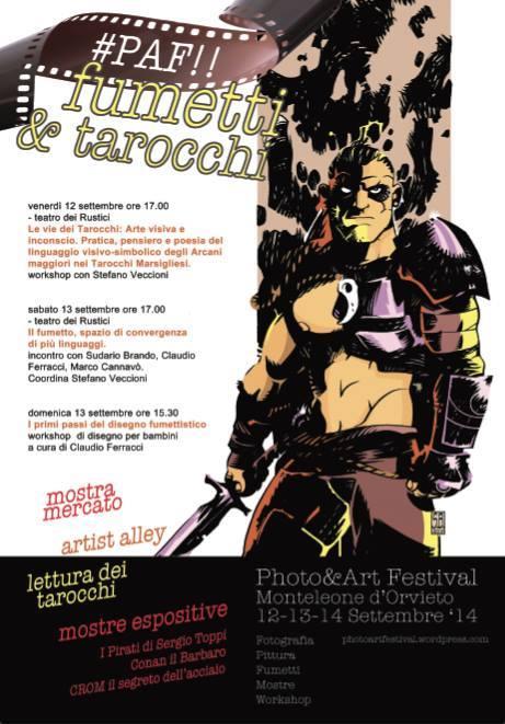 locandina PAF fumetto festival 2014