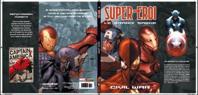 supereroi grandi saghe civil war