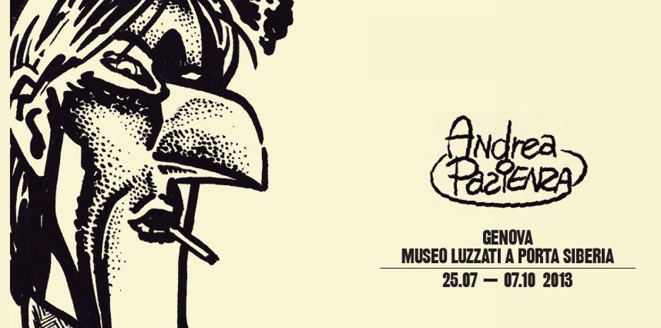 Andrea Pazienza al Museo Luzzati