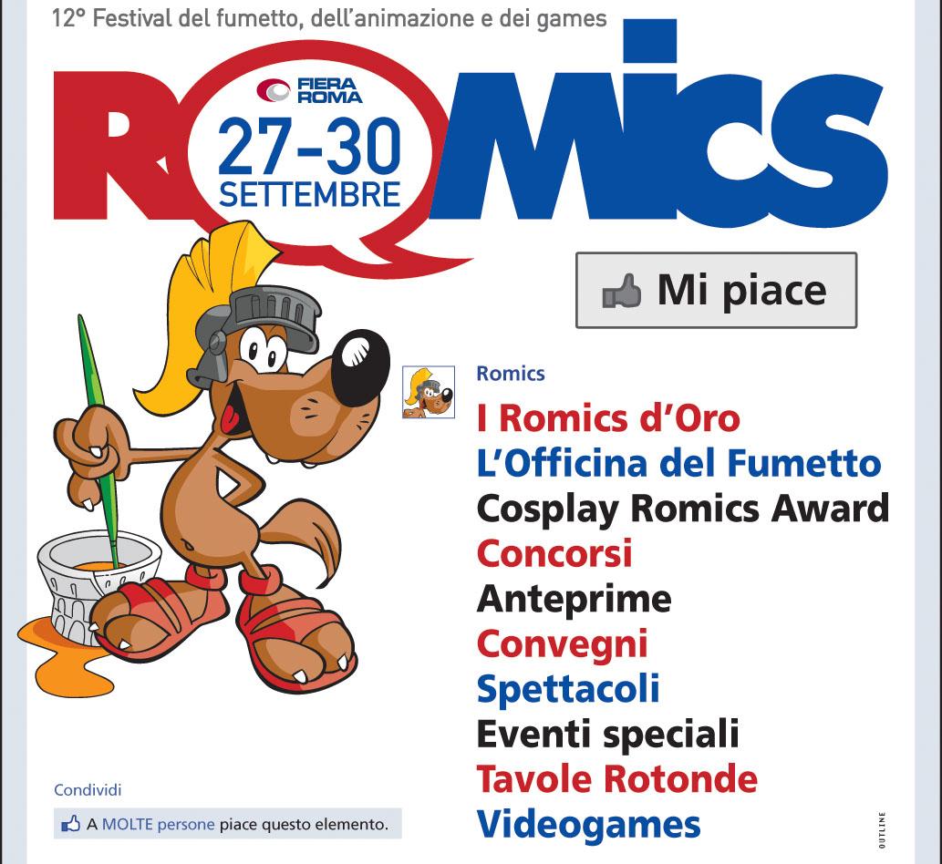 il lupetto di Romics