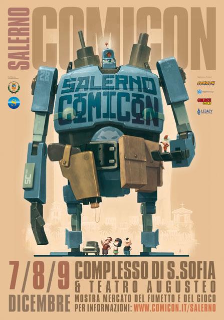 manifesto di Salerno Comicon di Andrea Scoppetta