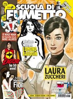 copertina del n° 78 scuola di fumetto