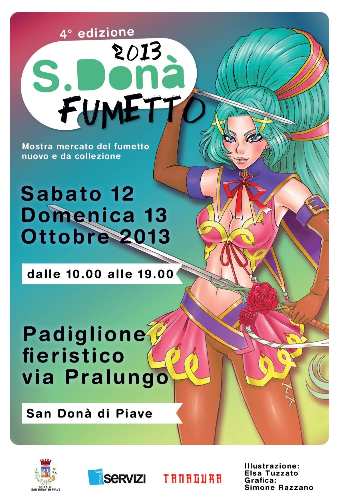 manifesto di San Dona' Fumetto 2013