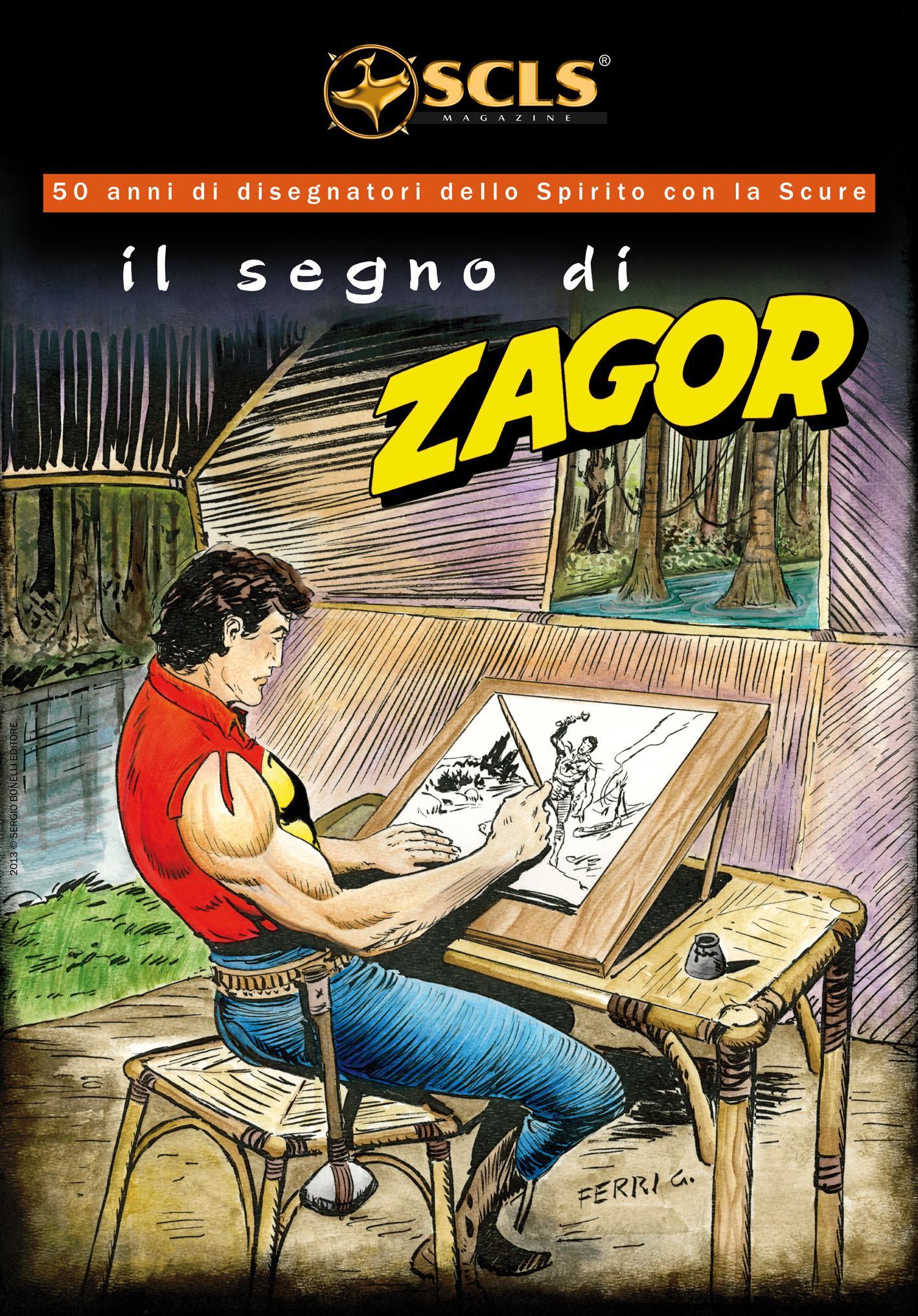 Copertina il segno di Zagor - Gallieno Ferri