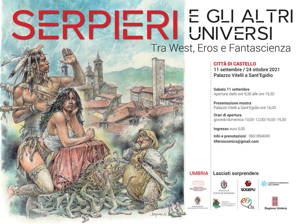 mostra di Paolo Eleuteri Serpieri