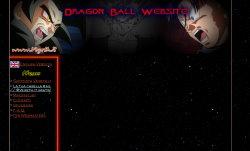 immagine del sito  dragon ball site
