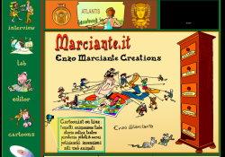 immagine del sito  Enzo Marciante
