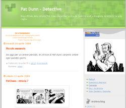immagine del sito pat dunn detective