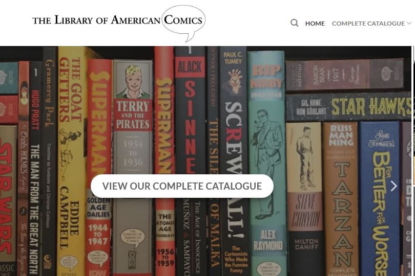 The Library of American Comics