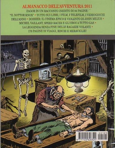 retro copertina almanacco dell'avventura (zagor) numero 13