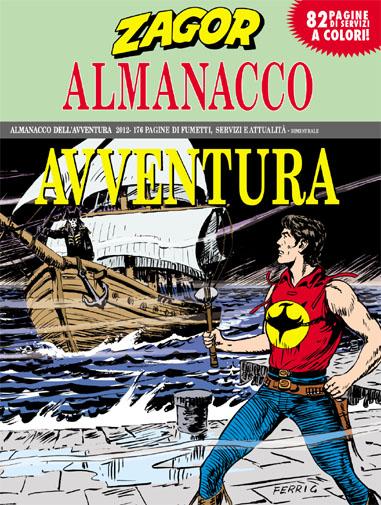 copertina almanacco dell'avventura (zagor) numero 14