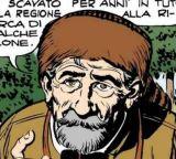 Benjamin Mandell, disegno di Gallieno Ferri