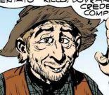 Buddy Basset, disegno di Gallieno Ferri