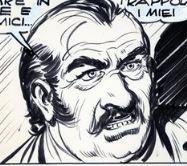 Buddy Caldwell, disegno di Gallieno Ferri