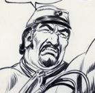 Fred, disegno di Gallieno Ferri
