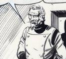 Dottor Hogan, disegno di Gallieno Ferri