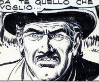 Oscar Kennett, disegno di Gallieno Ferri