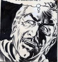 Vincent Krebs, disegno di Gallieno Ferri