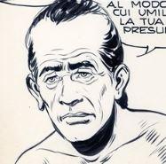 Wilson, disegno di Gallieno Ferri