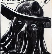 L'Avvoltoio, disegno di Gallieno Ferri