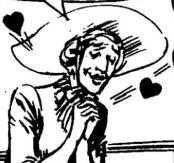 Dama Innamorata, disegno di Gallieno Ferri