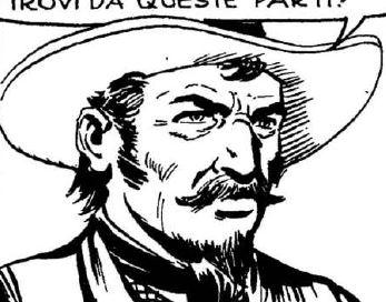 Burnett, disegno di Franco Bignotti