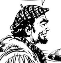 Pablo Rochas, disegno di Gallieno Ferri