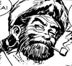 Jim Baker, disegno di Gallieno Ferri