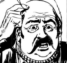 Mr Symm, disegno di Gallieno Ferri