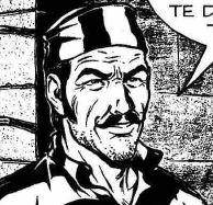 Manuel Cordero, disegno di Paolo Bisi